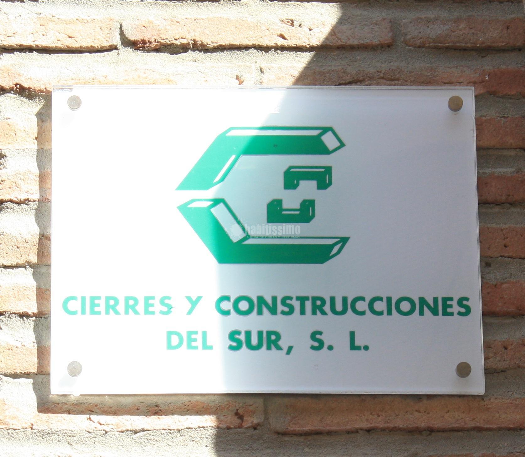Cierres Y Construcciones Del Sur