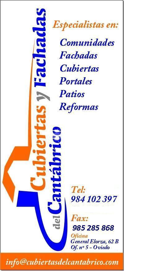 Cubiertas y Fachadas del Cantábrico