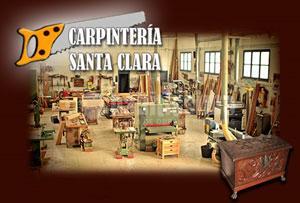 Carpinteria de madera Santa Clara