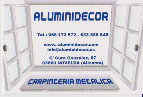 Aluminidecor
