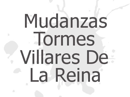 Mudanzas Tormes Villares De La Reina