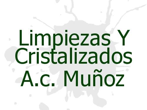 Limpiezas Y Cristalizados A.c. Muñoz