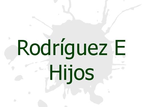 Rodríguez E Hijos