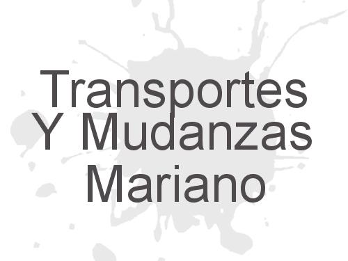Transportes Y Mudanzas Mariano