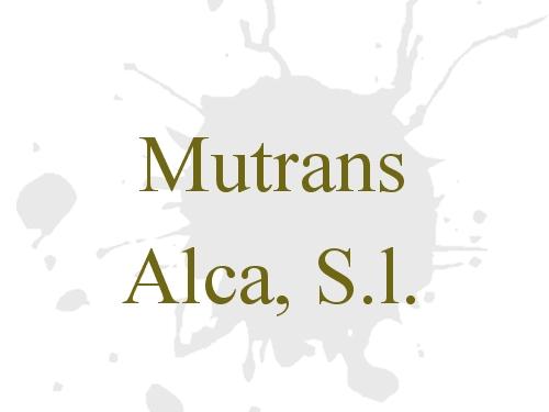 Mutrans Alca, S.l.