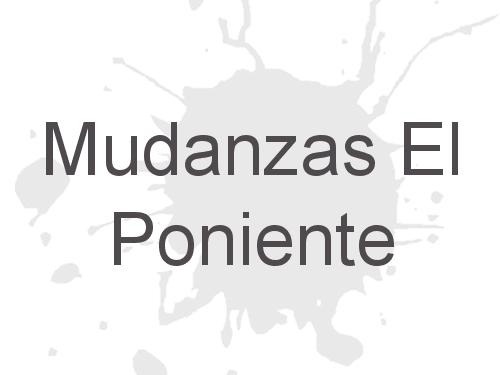 Mudanzas El Poniente