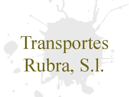 Transportes Rubra, S.l.