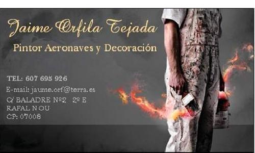 Pintor & Lacador  Jaime Orfila Tejada