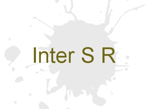 Inter S R