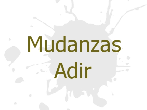 Mudanzas Adir