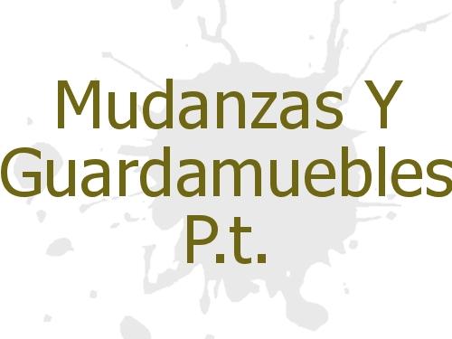 Mudanzas Y Guardamuebles P.t.