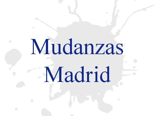 Mudanzas Madrid