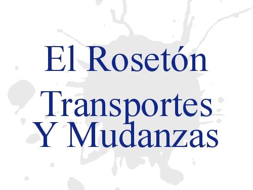 El Rosetón Transportes Y Mudanzas