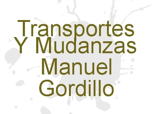 Transportes Y Mudanzas Manuel Gordillo