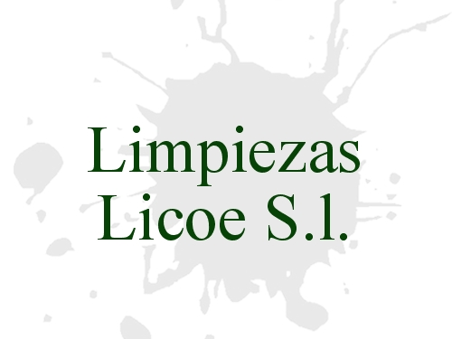 Limpiezas Licoe S.l.