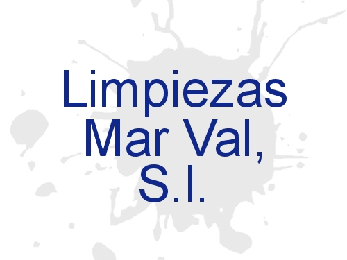 Limpiezas Mar Val, S.l.