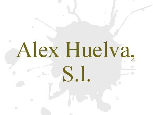 Alex Huelva, S.l.