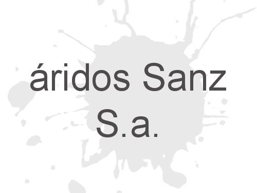 áridos Sanz S.a.