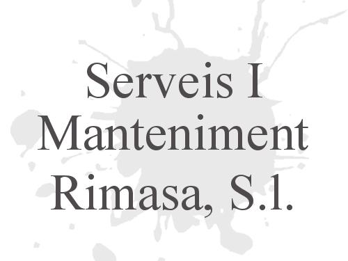 Serveis I Manteniment Rimasa, S.l.