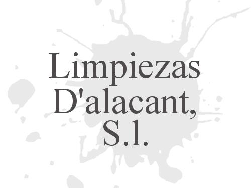 Limpiezas Dalacant, S.l.