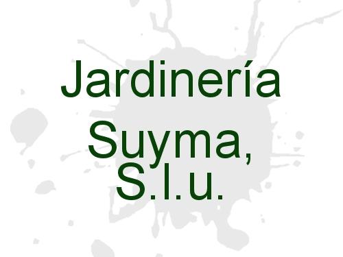 Jardinería Suyma, S.l.u.