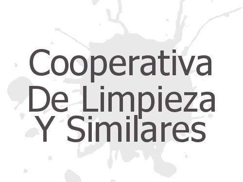 Cooperativa De Limpieza Y Similares