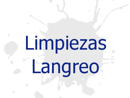 Limpiezas Langreo