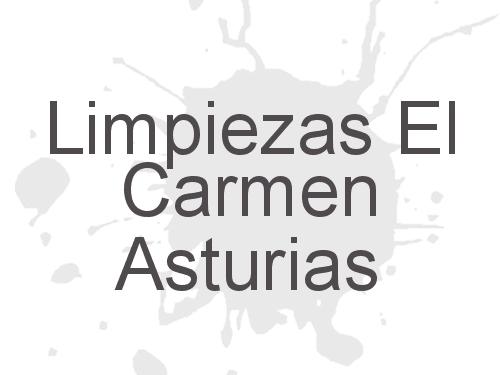 Limpiezas El Carmen Asturias