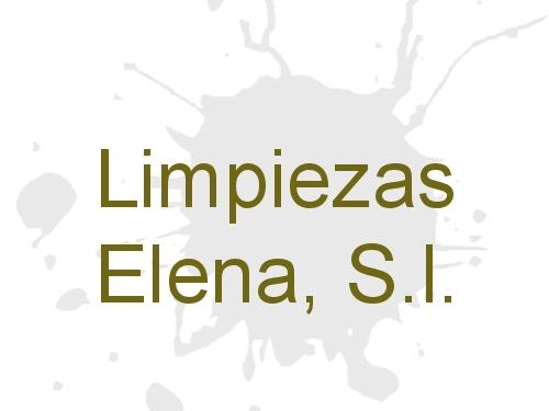 Limpiezas Elena, S.l.