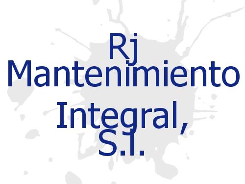 Rj Mantenimiento Integral, S.l.