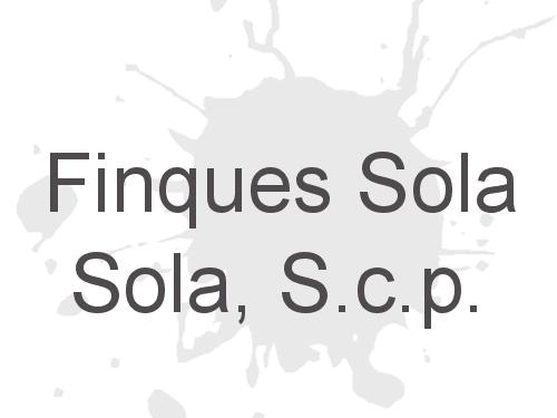 Finques Sola