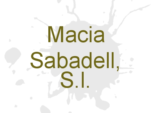 Macia Sabadell, S.l.