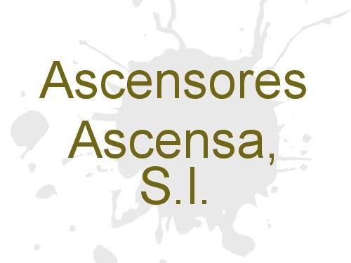 Ascensores Ascensa, S.L.