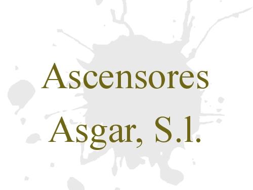 Ascensores Asgar, S.l.