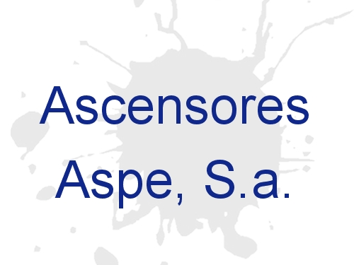 Ascensores Aspe S.A.