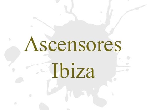 Ascensores Ibiza