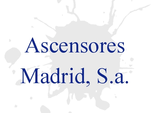 Ascensores Madrid, S.a.