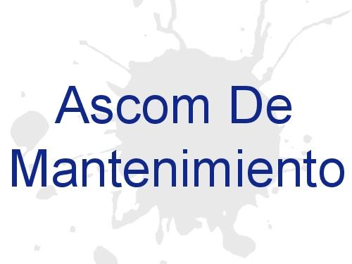 Ascom De Mantenimiento