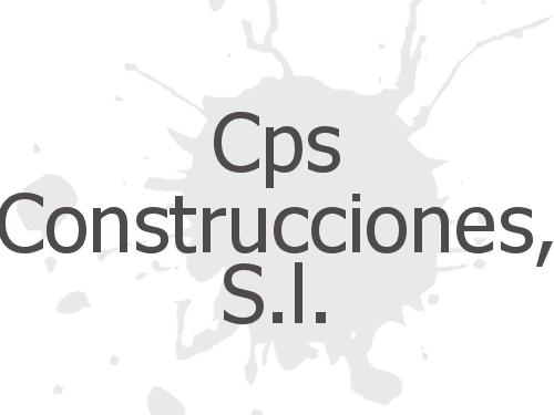 Cps Construcciones, S.l.