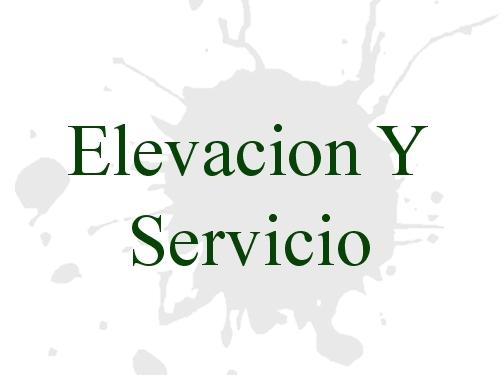 Elevacion Y Servicio