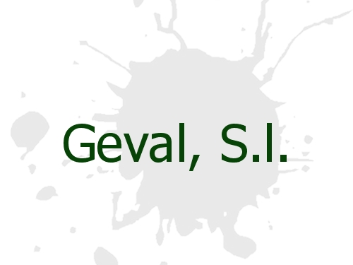 Geval, S.l.