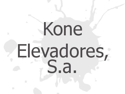 Kone Elevadores, S.a.
