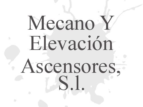 Mecano Y Elevación Ascensores, S.l.