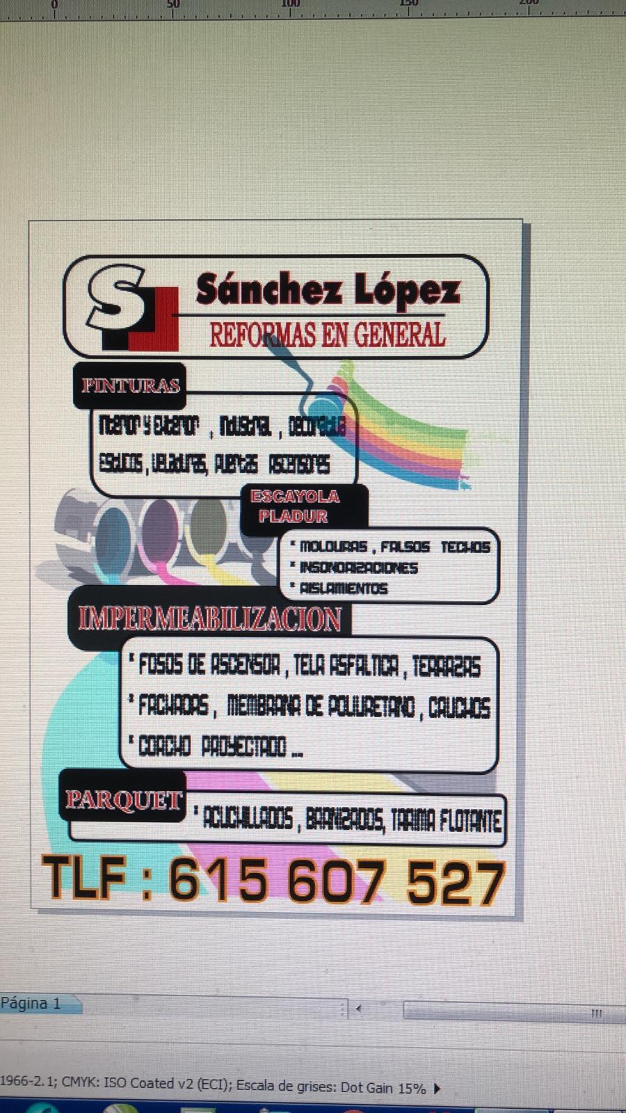 Reformas Sánchez López