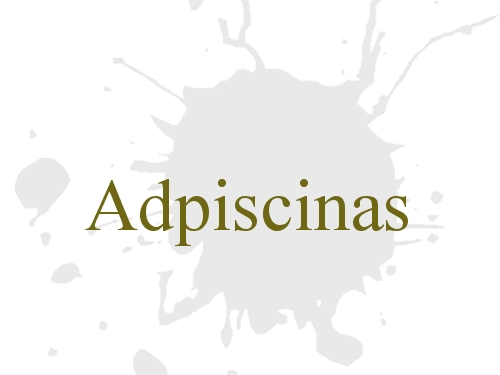 Adpiscinas