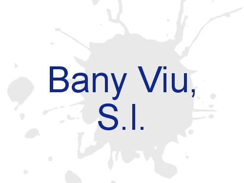 Bany Viu, S.l.