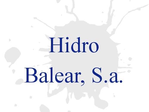 Hidro Balear, S.a.