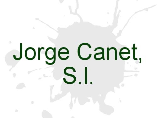 Jorge Canet, S.l.
