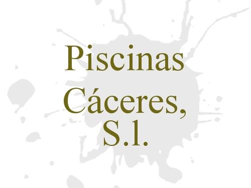 Piscinas Cáceres, S.l.