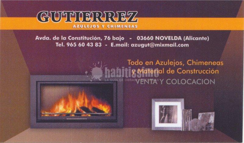 Azulejos y chimeneas Gutierrez S.L.